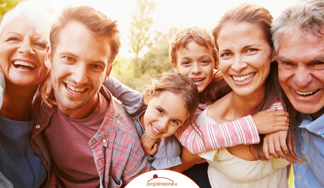 Fondo pensione: la protezione per tutta la famiglia