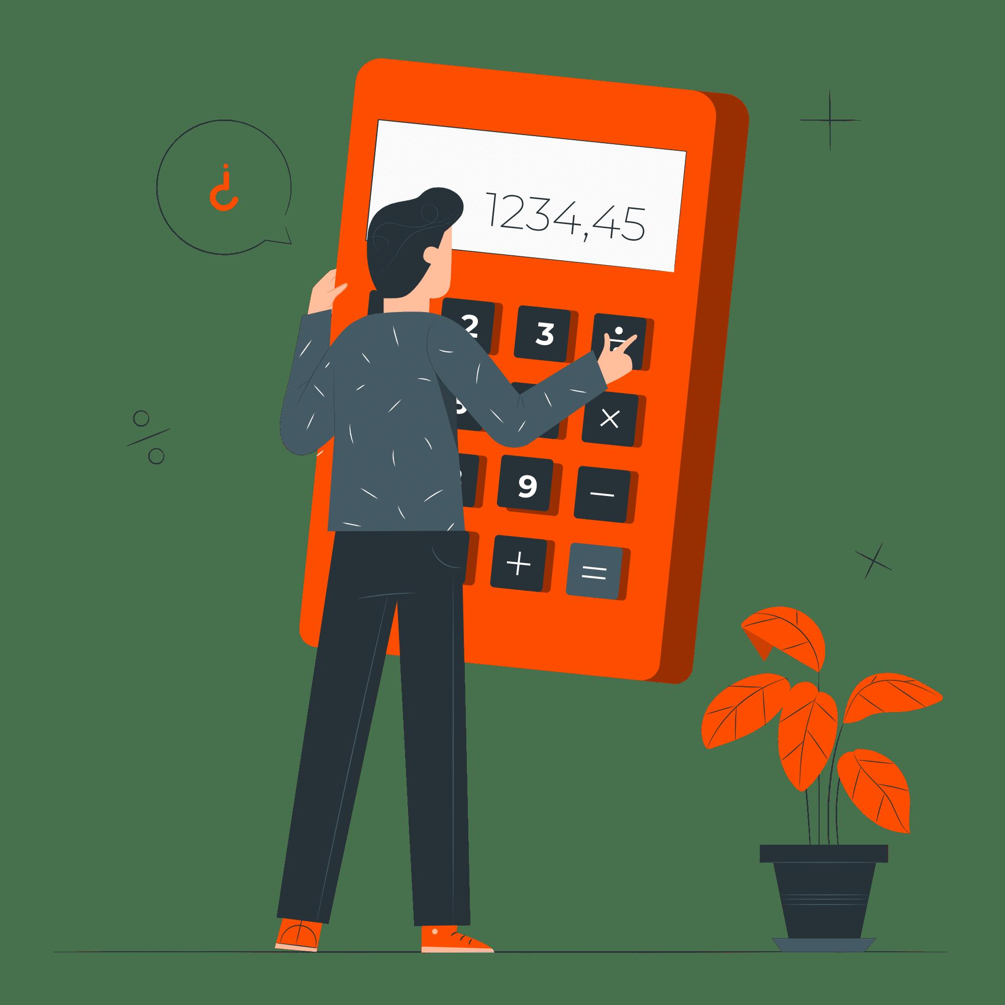 illustrazione-calcolatrice