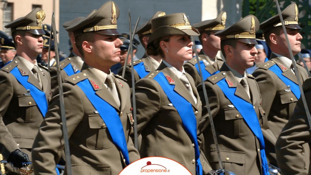 Pensione integrativa militari, forze di polizia e forze dell'ordine